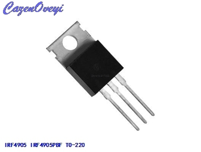 10pcs/lot IRF4905 IRF4905PBF TO-220 MOS FET P channel field effect 74A 55V 200W new original In Stock
