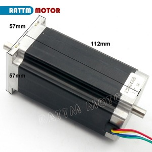 Image 5 - CNC 3 Axis Nema 23 stepper motor kit 112mm (Dual shaft) 425oz in & FMD2740C 50VDC Motor Driver & 4 axis USB port breakout board