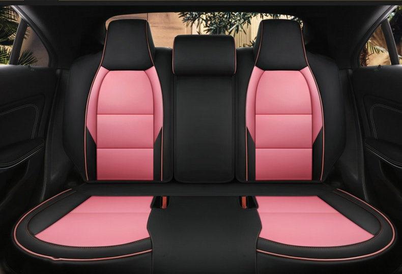 MERCEDES-BENZ 220 PREMIUM CAR SEAT COVERS PROTECTORS 100/% WATERPROOF BLACK