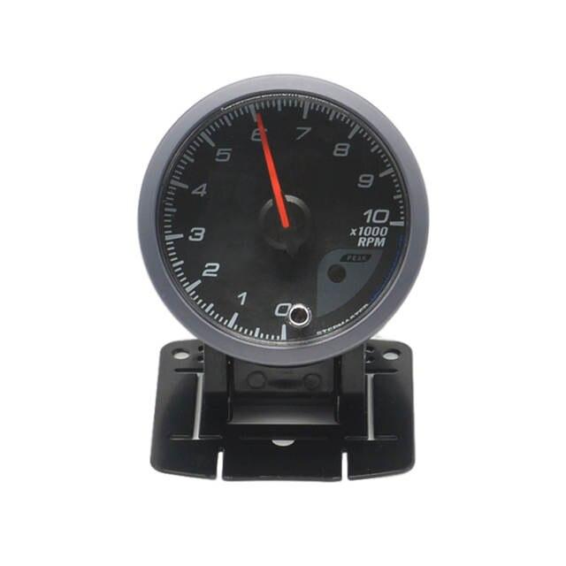 US $18 7 9% OFF|Dragon gauge 60mm Stepper motor self test function Car Rev  Counter Tachometer Pointer RPM Gauge Meter Free shipping-in Tachometers