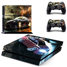 Game Need for Speed PS4 Skin Sticker Decal Vinyl for Sony Playstation 4 Console and 2 Controllers PS4 Skin Sticker