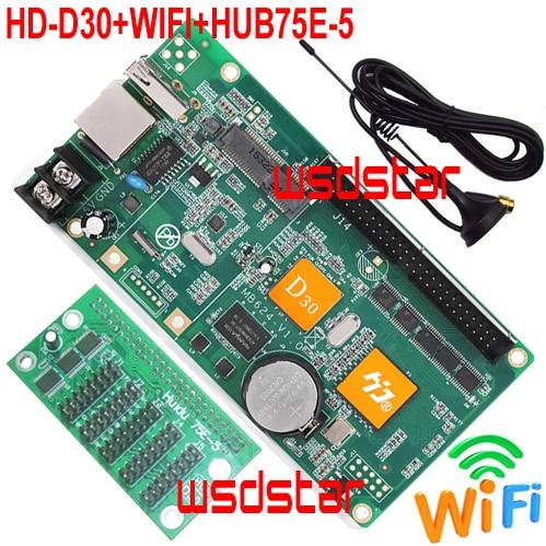 HD D30 WIFI HUB75E 5 5 HUB75E Support 1 32 Scan Support P2 P2 5 P3