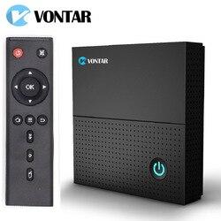Vontar tx92 3 gb 64 gb android caixa de tv 7.1 octa núcleo 4 k amlogic s912 2.4g/5 ghz wifi bt4.1 perseguidor media player conjunto caixa superior