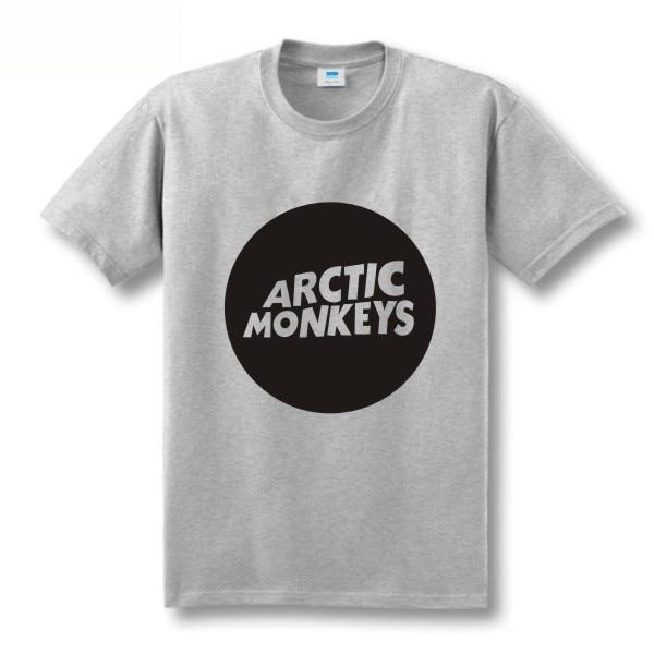 Zweite Tötung Arktische Affen Druckt-shirt Männer Kurzhülse 100% - Herrenbekleidung - Foto 4