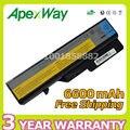 Apexway 6600 мАч 9 cell Аккумулятор Для Ноутбука Lenovo IdeaPad G465 G470 G475 G560 G565 G570 G780 G770 V360 V370 V470 V570 b570 Z370