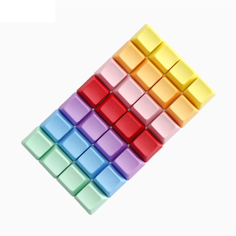 Axis Body : 4pc R2 Hight, Color : Pink Keyboard keycaps 4pc No Letter Thicken PBT Mechanical Keyboard Keycaps Colorful R1 R2 R3 R4 Replacement Key Cap for Switches Keyboard