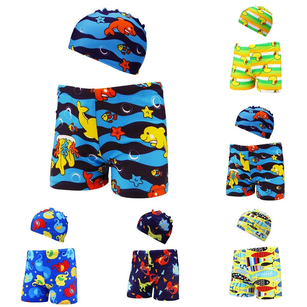 Responsible Muqgew2pcs Kids Baby Boys Stretch Beach Swimsuit Swimwear Trunks Shorts+hat Set#p30us Numerous In Variety Home