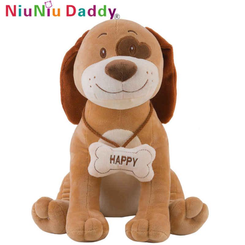 Niuniudaddy милые плюшевые игрушки животных Детские куклы с высоким качеством чучело слона плюшевый тигр мягкая собака Красивая корова Бесплатная доставка
