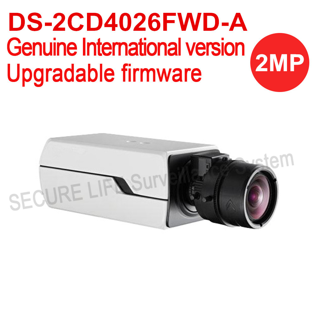DS-2CD4026FWD-A English version 2MP ultra-Low Light Smart cctv ip Camera POE, Auto Back Focus without lens H.264+ двигатель змз 4026 10