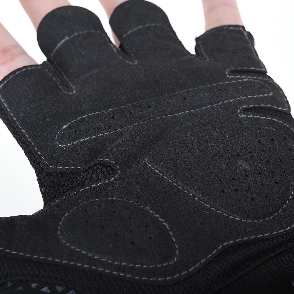 AONIJIE Running Jogging Hiking Anti slip Anti sweat Men Women Half Finger Gloves Weightlifting Sports MTB Bike Bicycle Glove in Running Gloves from Sports Entertainment