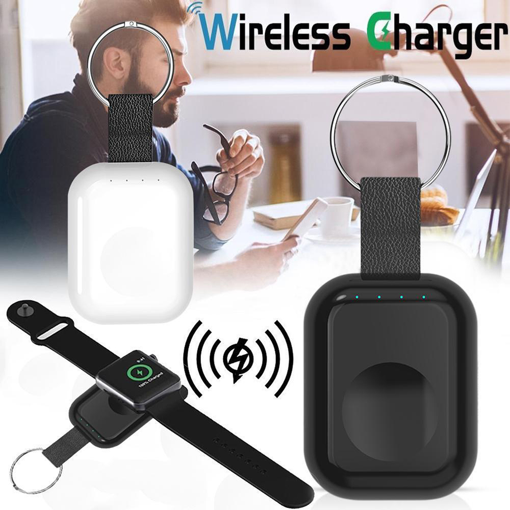 Accessories & Parts Efficient Magnetic Wireless Charger For Apple Watch Series 4 3 2 1 Portable Mini Qi Charger External Power Bank Keychain For Apple Watch