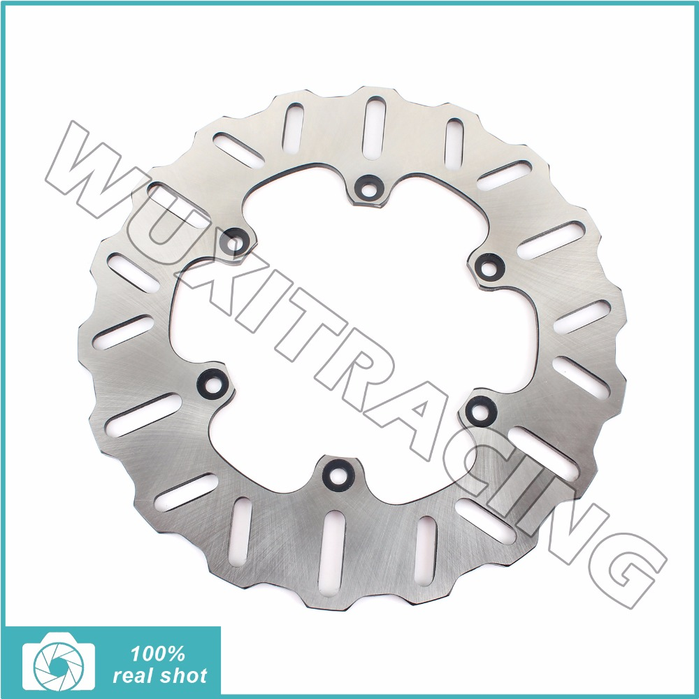 New Rear Brake Disc Rotor fit for CAGIVA MITO 125 8P 1991-2010 92 93 94 95 96 97 98 99 00 01 02 03 04 05 06 09MITO 500 2007 2008 rear brake disc rotor for kawasaki kle500 91 92 93 94 95 96 97 98 99 00 01 02 03 04 05 06 07 klr650 a c kl650 tengai