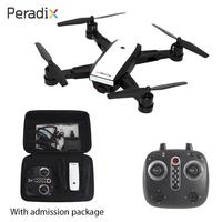 Peradix LH X28WF Aircraft WiFi FPV 720P HD Camera GPS Follow Me Quadcopter Stable Gimbal App Control Selfie Helicopter Drone