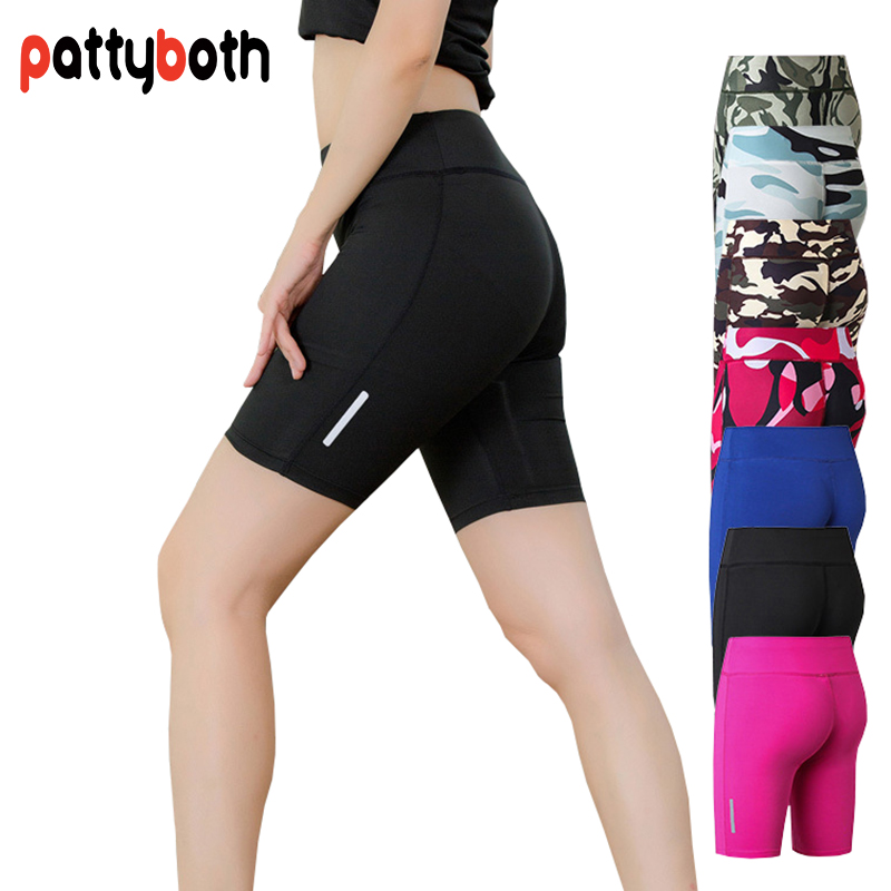 Compression Short Tights Base Layer Sportswear Quick Dry Athletic Skinny Yoga Shorts for Women Running Workout Fitness Shorts drawstring skinny sport shorts
