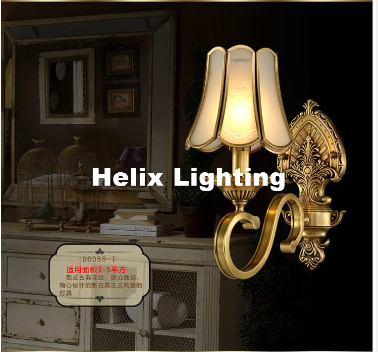 Free Shipping Nordic Style Copper Wall Lamp Single/Double Head Hallway Light Bedroom Brass Glass Wall Sconce AC 100% Guaranteed 7020g 7 inch 1080p 2 din car audio radio mp5 player bluetooth call gps navigation steering wheel remote control fm usb tf aux