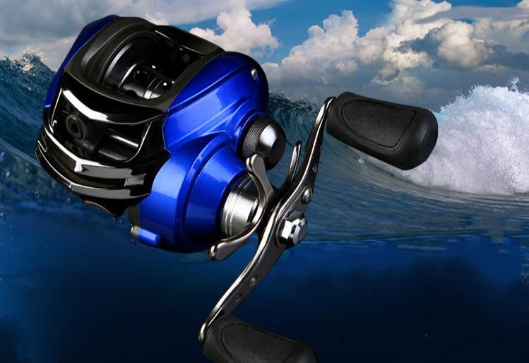Flying shark 11 axis magnetic brake wheel water drop wheel bait casting wheel left /right hand lure fishing reel fishing tackles