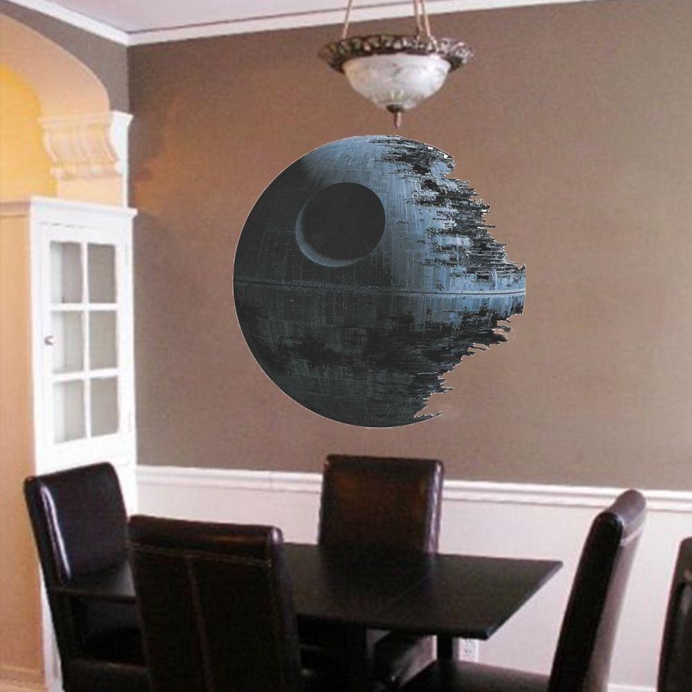 Películas De Star Wars Estrella De La Muerte Del Arte Del Vinilo