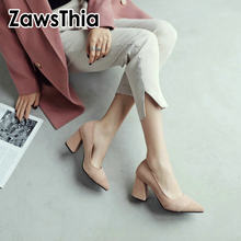 d6d0685fc4f ZawsThia 2019 new formal dress working office ladies shoes fashion woman  pumps stilettos shoes girls high