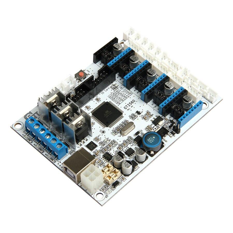 Geeetech nueva versión GT2560 3D Tarjeta de controlador energía Mega2560 + Ultimaker y rampas 1,4 + Mega2560
