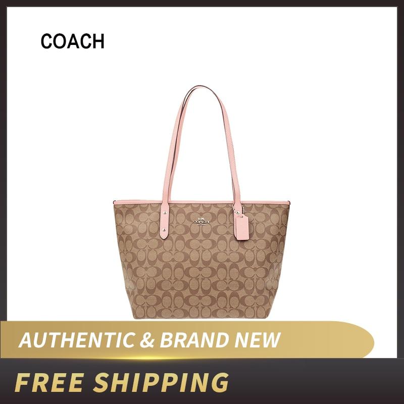 Coach Signature City Zip Tote Bag Handbag F58292/F37854/F39523/F89204/F80032/F73203