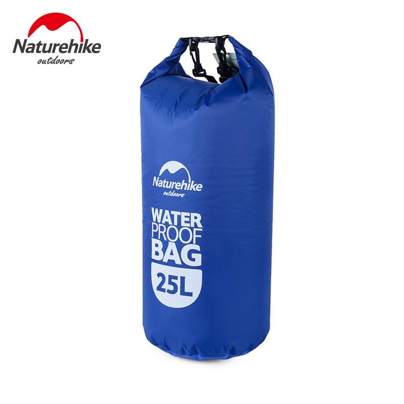Naturehike 25L סחף תיק שחיה חיצונית יבש שק שקיות אחסון גברים רפטינג דחיסת מים תיק נסיעות ציוד קיט