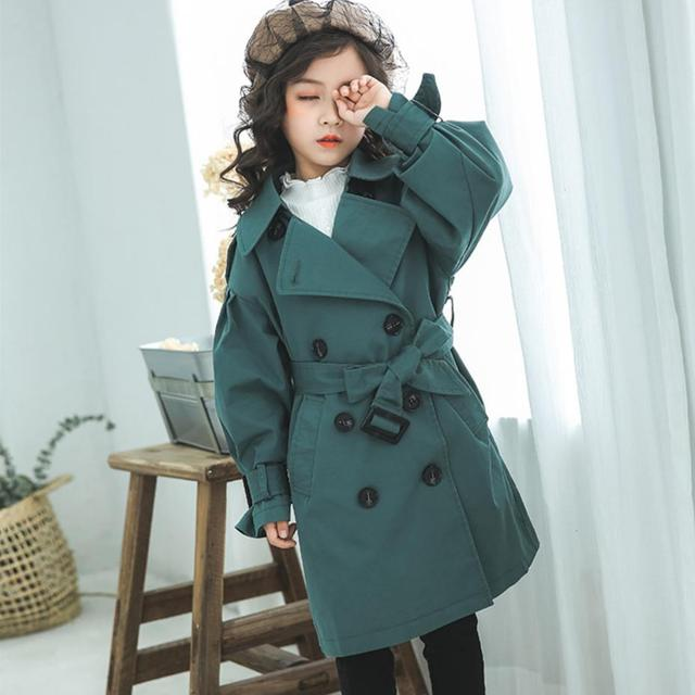 Baby Trench Coat Spring...