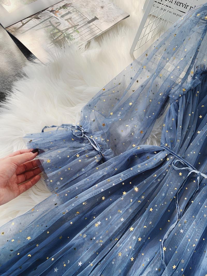 Gauze Two Piece Midi Dress 8