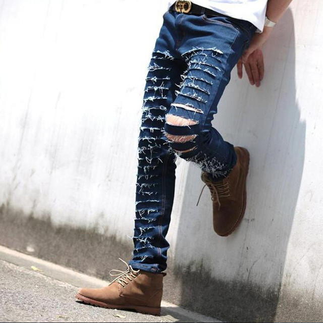 Ripped Jeans For Men Online Shopping - Xtellar Jeans