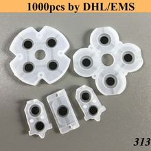 1000 sets JDS-030 Silicon Rubber Pads Contact L2 R2 Button Conductive for PlayStation 4 PS4 Controller 3.0 Version