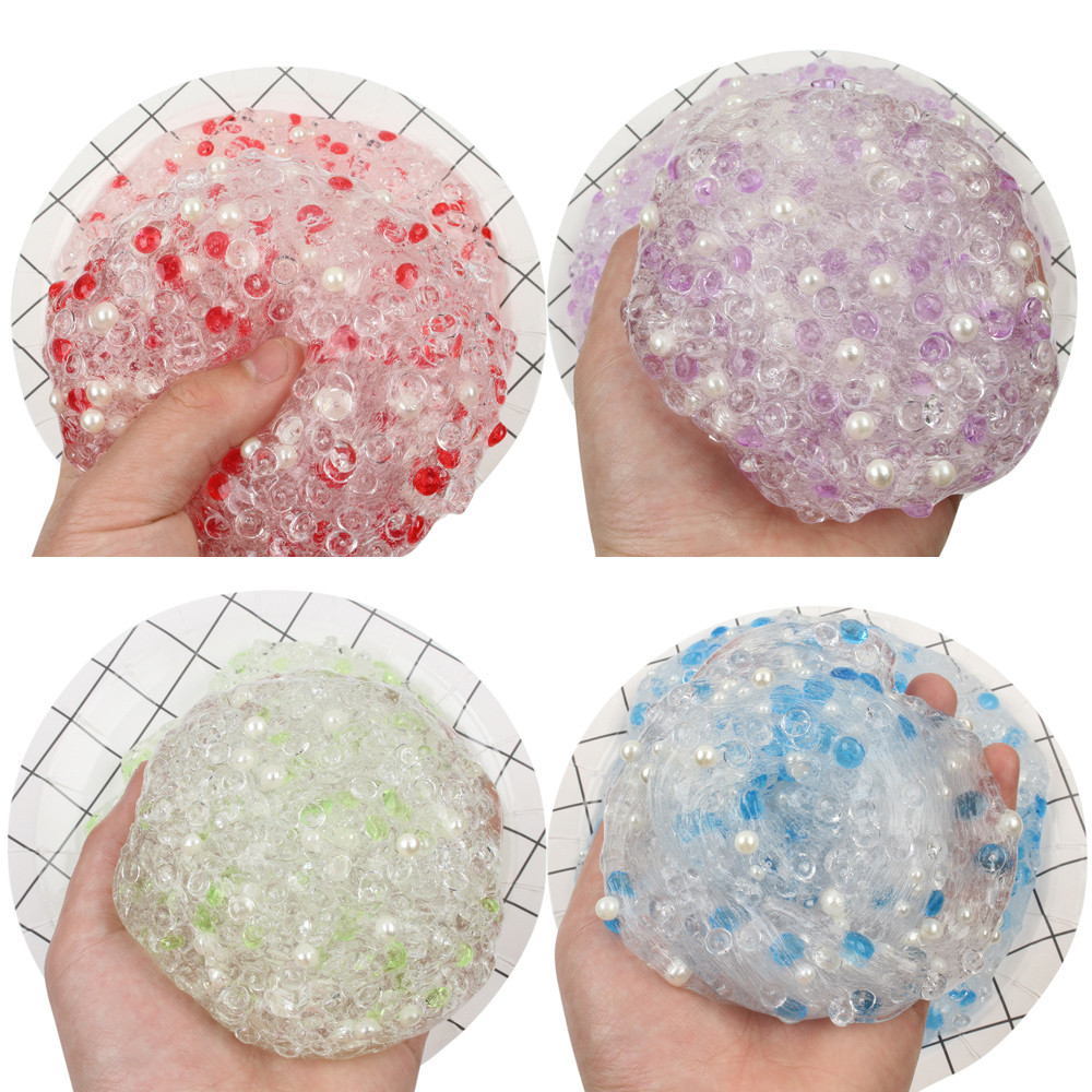 Diplomatic Beautiful Color Mixing Cloud Slime Putty Scented Stress Kids Clay Toy 3.19squishy Toys Toys & Hobbies Gags & Practical Jokes