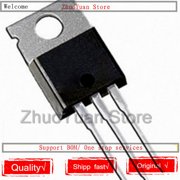 10PCS/lot IRFB7437PBF IRFB7437 FB7437 TO-220 195A 40V Power MOSFET