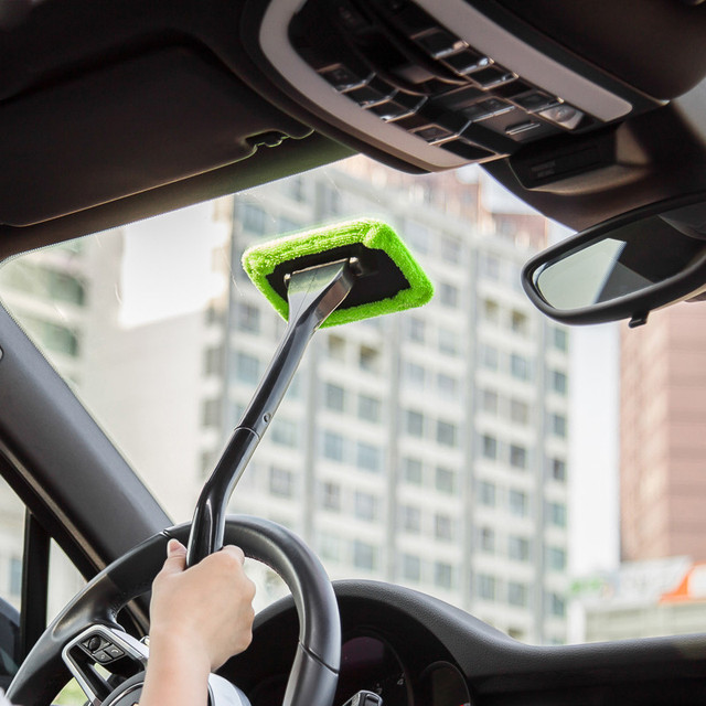 Portable Microfiber Windshield Cleaner