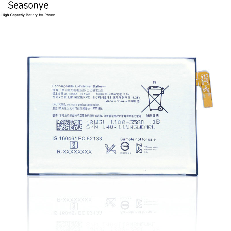 Seasonye 3430mAh / 13.1Wh LIP1653ERPC Phone Replacement <font><b>Battery</b></font> for sony <font><b>Xperia</b></font> XA2 Ultra G3421 G3412 <font><b>XA1</b></font> Plus Dual H4213 image