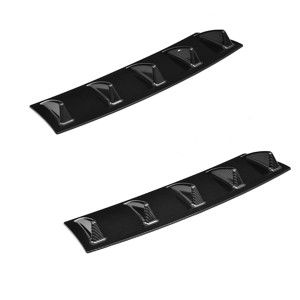 5 Fins Universal Rear bumper Lip Diffuser 1