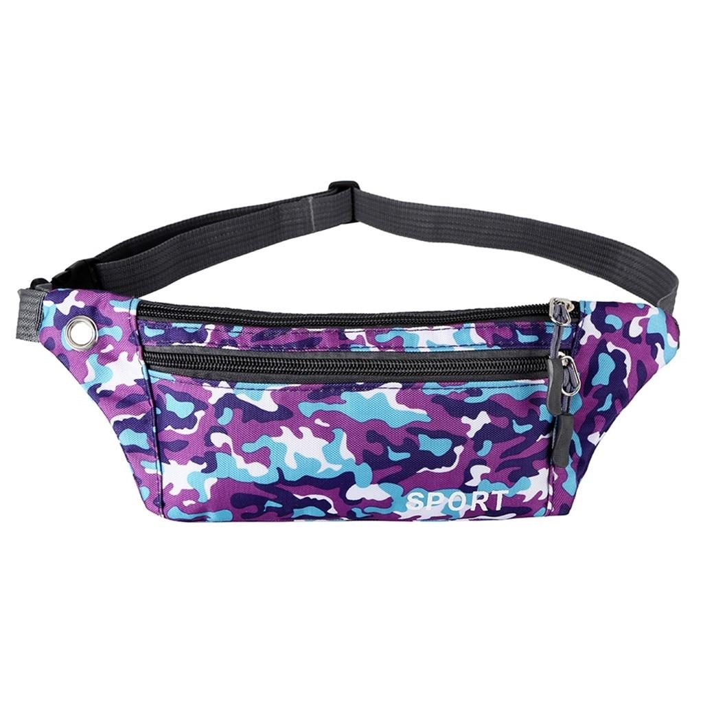 Men Women Waist Pack Unisex Outdoor Waterproof Functional Camouflage Crossbody Chest Phone Bags Handbag On The Belt Sac Ceinture