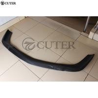 W219 CLS63 AMG Carbon fiber Car front bumper lip splitter for Mercedes Benz W219 04 11