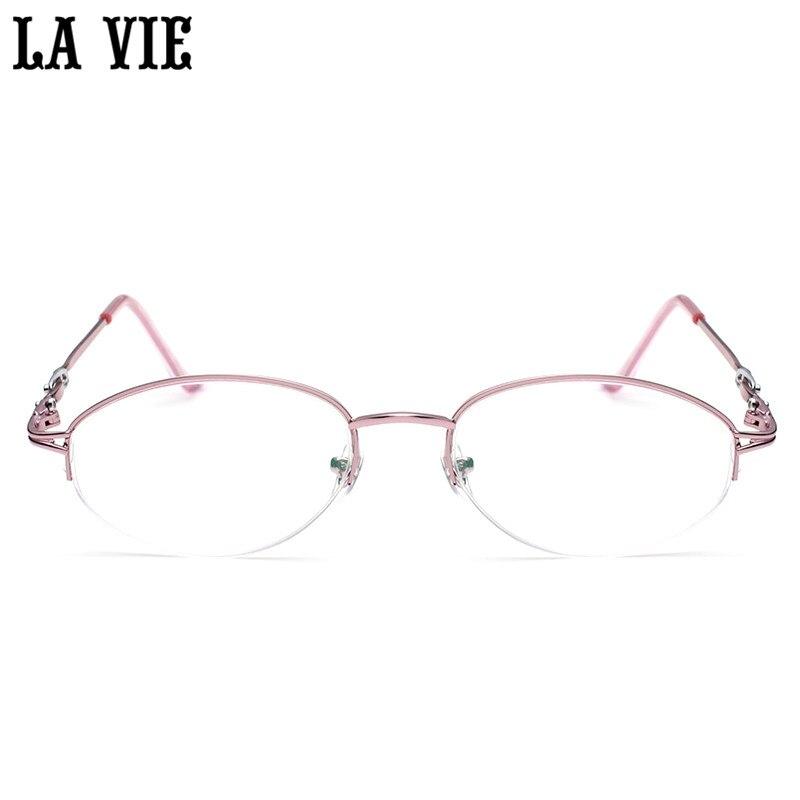 Moda Óculos de Presbiopia Óculos De Leitura Meia Borda Óculos de Design Ultraleve  Óculos Óculos + 1.0 ~ 4.0 Dioptria LV008 em Óculos de Leitura de Das ... 33007d145a