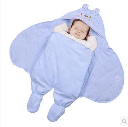 2016 горячий Мешок Сна Для Новорожденного ребенка Спальный Мешок Флис Детская Одежда стиль спальные мешки Рукавом Ползунки для 0-9 М