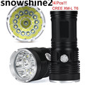 snowshine2#2001 Bicycle Accessories 34000LM 14x CREE XM-L T6 LED Flashlight Torch 4x 18650 Hunting Light Lamp free shipping