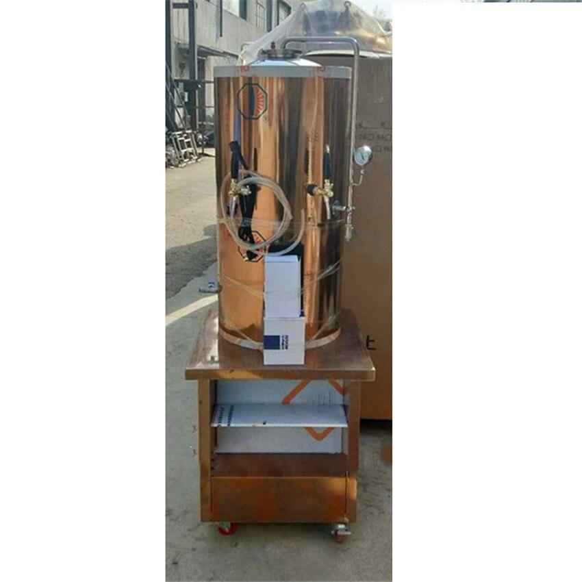 Machine de stockage fraîche commerciale professionnelle de refroidissement de bière d'acier inoxydable de réservoir de stockage de bière de 100L pour la boîte de nuit