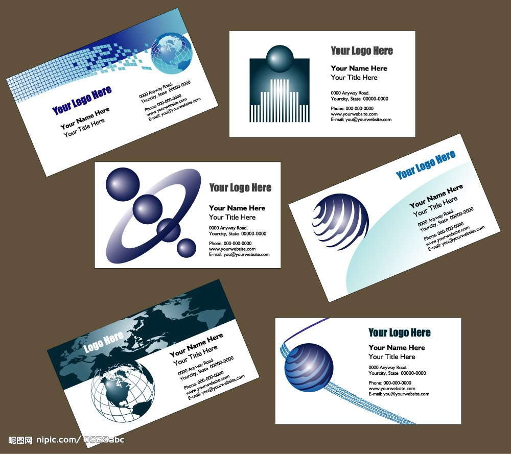Free Business Card For Computer Service Image collections - Card ...