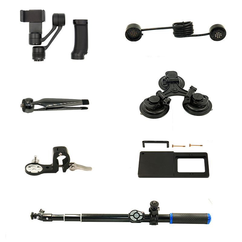iSteady 3 axis Handheld Gimbal font b Smartphone b font Stabilizer with Accessories Combo Kit Multiple