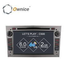 Ownice C500 Quad Core Android 6.0 2 Din 7 «DVD de voiture Lecteur GPS Pour Vauxhall Opel Antara VECTRA ZAFIRA Astra H G J Soutien 4G LTE