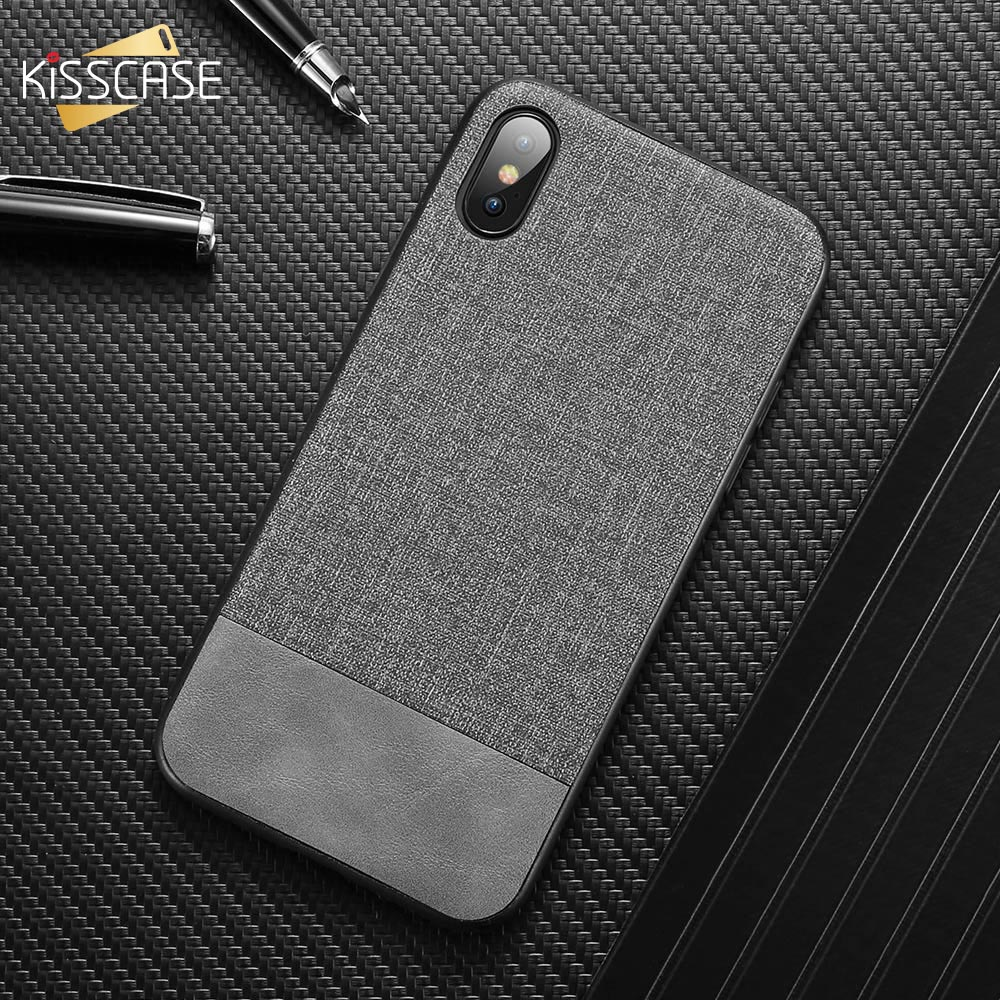 Image 2 - KISSCASE Cloth Leather Case For Samsung Galaxy A50 A70 A40 A20 A30 A60 A80 A90 A6 A8 J4 J6 2018 Phone Case For Samsung S10 Plus-in Fitted Cases from Cellphones & Telecommunications