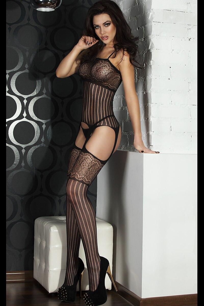 Tease Please Shredded Body Stockings nylon spandex undergarment wearing bedroom huge allure - Eden--Dear Lover store