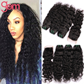 Wet Wavy Peruvian Virgin Hair with Lace Closure Cheap Peruvian Water Wave 3Pcs with Closure Queen Curly Hair tissage bresilienne