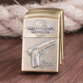 The old kerosene lighter pistol Xinqite creative personality retro embossed lighter