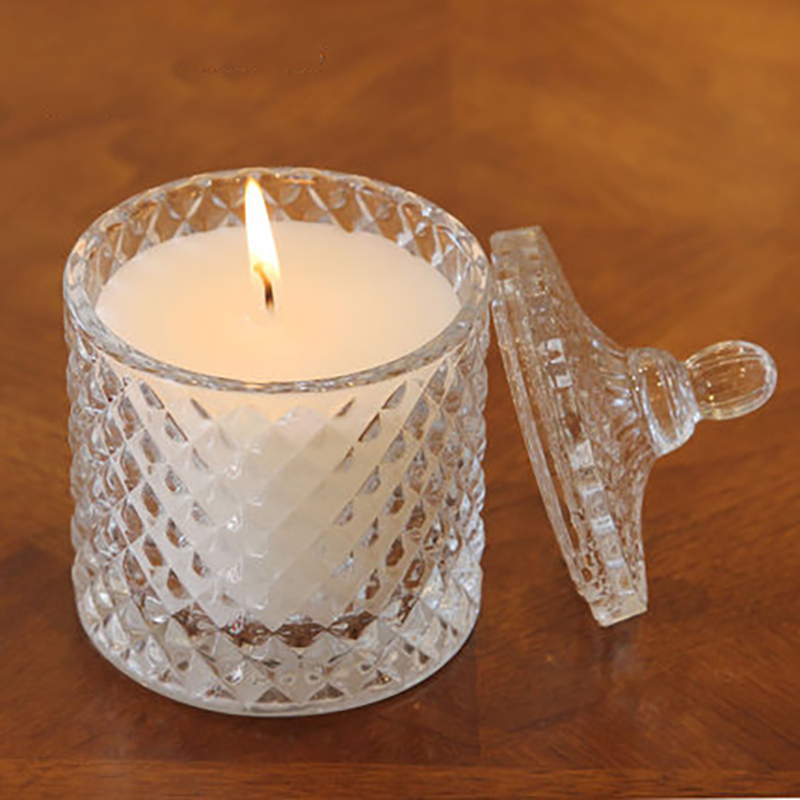 Smokeless Craft Scented Glass Candle Cup Essential Oil ...
