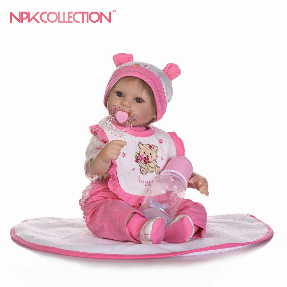 NPK reborn doll with soft real gentle  touch with mohair playing toys for kids Christmas sweet babyNPK reborn doll with soft real gentle  touch with mohair playing toys for kids Christmas sweet baby