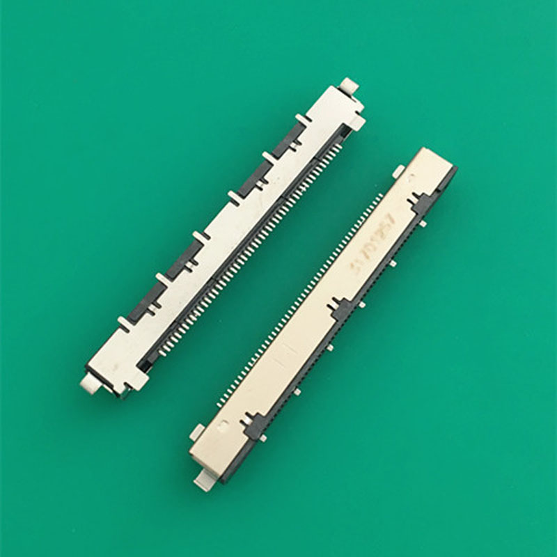 10pcs LCD Interface LVDS Connector Plug Socket 05 pitch 51pin/41-pin For Large LCD Screen